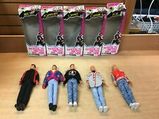 New Kids on the Block Fashion Figurines Hangin' Loose Complete Collection