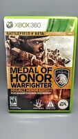 Medal of Honor: Warfighter - Project Honor Edition (Microsoft Xbox 360, 2012)