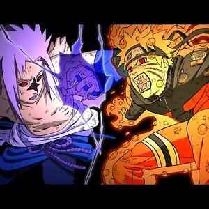"Sasuke Sharingan Naruto Anime 36/"" x 24/"" inches Large Wall Poster Print"