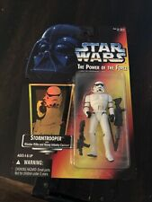 Star Wars Power Of The Force Red Card Stormtrooper With Hologram