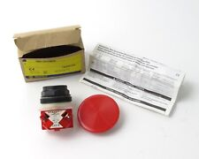 New - Old Stock Square D 9001Skr5Rh6 Red Push Button Switch