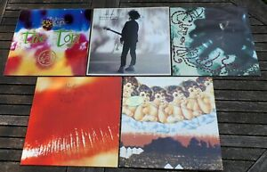 The Cure LP Sammlung Top, Boys, Lullaby, Kiss Me, Japanese Whispers