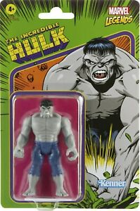 "Kenner Marvel Legends The Incredible Hulk Retro 3.75"" Figures - Hulk"