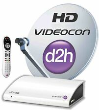 Videocon d2h HD Set Top Box Secondary Connection