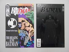 Batman comic lot of 2! #'s 497 and 515! VF8.0+ to NM9.2- CHECK OUT BANE!