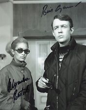 Alexandra Bastedo & William Gaunt signed 8x10 The Champions photo / autograph