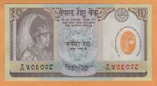 NEPAL 10 RUPEES POLYMER COMMEMORATIVE ISSUE UNC ND(2002) P-45 Banknote