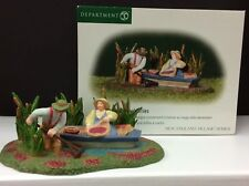 Dept 56 New England Village Gathering Cranberries #56.56644 New/Old Stock