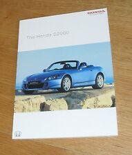 Honda S2000 Roadster Brochure 2003-2004 - 2.0 VTEC Roadster & GT Roadster