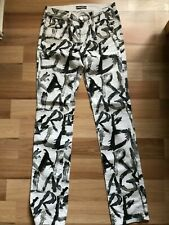 Karl Lagerfeld Women's Graphic W28 L32 Trousers