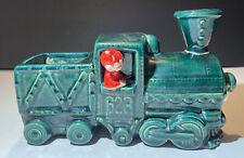 "Vintage GILNER Pixie Elf Train Planter 623 Engineer Locomotive 8 1/4"" x 5""Tall"