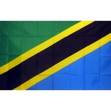Tanzania Country flag Banner Sign 3' x 5 Foot Polyester With Grommets