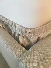 European Style Box Spring Cover By SDH Cal King Ivory& Taupe Stripe