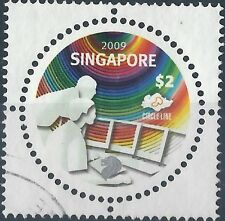 Used Postage Singapore Stamps (1824-1963)