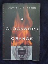 A Clockwork Orange by Anthony Burgess Paperback Edition