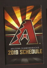 Arizona Diamondbacks--2019 Pocket Schedule--Coors Light