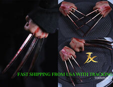 1/6 Wolverine Logan Metal Claw Blood Hands Realistic Hair For Hot Toys ❶USA❶