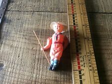 Celluloid Japan Boy Scout / Ranger , Moveable Arms Rare Toy