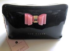 8e06ac28a38764 Ted Baker London Julis Bow Triangle Make up Cosmetic bag purse Black