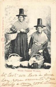 WELSH PEASANT WOMEN - 1903 POSTCARD
