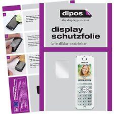 2x AVM Fritz!Fon C4 Schutzfolie klar Displayschutzfolie Folie dipos Displayfolie