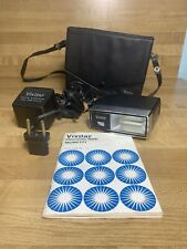 Vintage, Vivitar 171 Electronic Flash, with cable, hard case & manual original