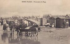 BERCK-PLAGE   -   Promenade a la Plage
