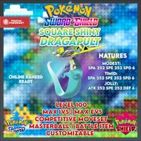 SHINY DRAGAPULT | Pokemon Sword & Shield | 6IVS | Level 100 | Competitive
