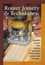 Router Joinery & Techniques with Glen D. Huey - DVD