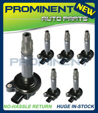 Set of 6 Ignition Coils For Ford Lincoln Mazda Edge Taurus MLS MKK C1595 UF553