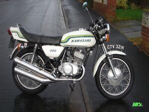 Kawasaki S1 250 Triple 1972 S1 & S2 350  Decal set - The BEST!