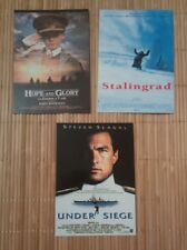 3 cartes postales cinéma Guerre Stalingrad Under Siege Hope and Glory