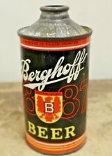 New listing Vintage Berghoff Cone Top Beer Old Beer Can
