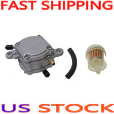 Outlet Vacuum Fuel Pump Assembly for GY6 50cc 125cc 150cc ATV Go Kart Scooter