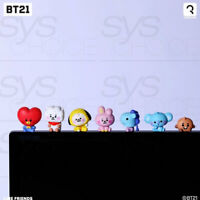 BTS BT21 Official Authentic Goods Monitor Figure Baby Ver 7SET by Royche +Track#