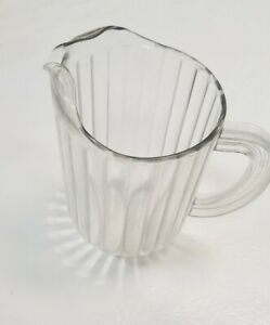Rubbermaid Commerical Clear Plastic Pitcher #3338 60 oz.  USED