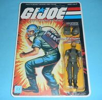 *RECARDED* 1982 GI Joe Breaker v1 Figure Complete Sealed *CUSTOM File Card Back*