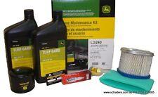 John Deere Ride On Mower Home Maintenance Kit- LG240 Suit L110, LT160, LX266 +
