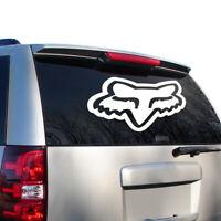 "24"" LARGE Fox TDC Head Vinyl Decal Sticker: Cars, ATVs, MX Boats, Truck, Racing"
