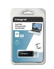 USB 3.1 SD and Micro SD Card Reader by Integral