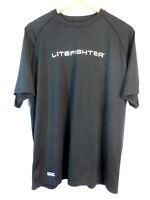 LiteFighter Under Armour Heatgear Tactical Tech Shirt Men's XL Black 1005684 #2