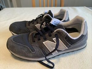 Men's New Balance 373 Navy Suede Fashion Trainers Size Uk 9