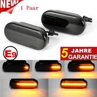 Dynamische Smoke LED Seitenblinker Blinker For VW Bora Golf 3 4 Lupo Passat 3BG