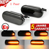 Dynamische Smoke LED Seitenblinker Blinker For VW Bora Golf 3 4 Lupo Passat 3BG