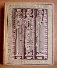 LA SCULPTURE FRANCAISE AU MOYEN ÂGE / MARCEL AUBERT / 1947