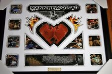 NEW!! MANNY PACQUIAO BOXING CHAMPION SIGNED FRAMED LIMITED EDITION 499 w/ COA
