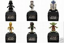 Star Wars Space Opera Set of 6 Takara Tomy Trooper Vader Yoda C-3PO R2-D2 B.Fett