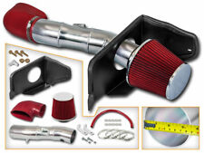 Cold Air Intake Kit + RED Filter For 05-09 Ford Mustang GT 4.6L V8