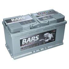 BARS PLATINUM Starterbatterie 12V 100Ah 900A ersetzt 88Ah 90Ah 95Ah 100Ah 105Ah