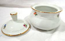 vintage TK Thun Czechoslovaka Bohemia fine china  sugar bowl